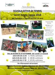 Centri Estate Tennis 2018 AOSTA