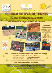 Centri Estate Tennis 2019 AOSTA